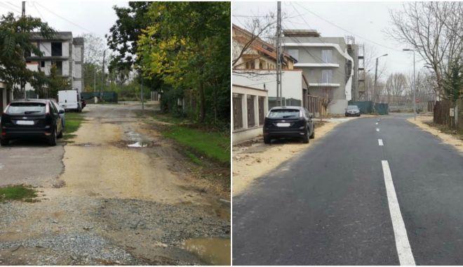 Foto: Condițiile de circulație în cartierele Constanței se îmbunătățesc!