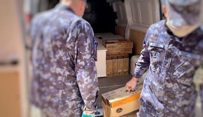 Foto: Spitalul Modular Militar de pe stadionul Portul a primit echipamente!