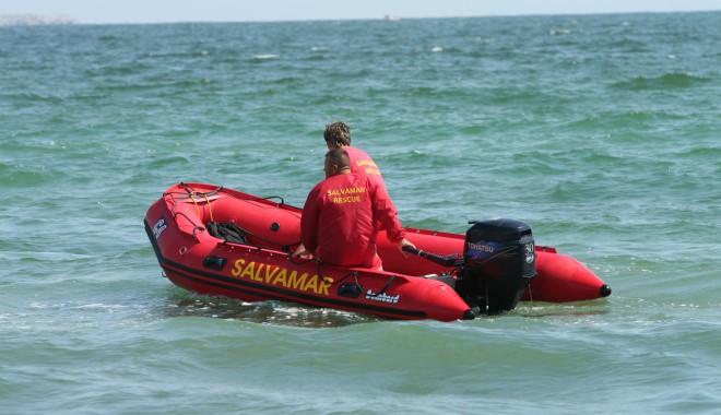 Foto: Copilul de 13 ani, înecat în Mamaia, a fost găsit de scafandri