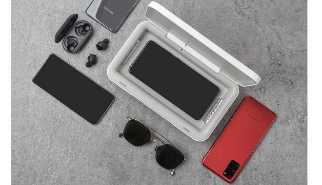 Samsung propune un dispozitiv care îți încarcă și curăță telefonul cu ultraviolete - 1-1593792091.jpg