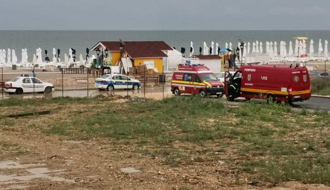 Foto: Alertă în Mamaia. Persoană în pericol de înec, în largul Mării Negre