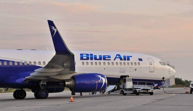 Foto: Compania aeriană Blue Air reia zborurile către mai multe destinații europene
