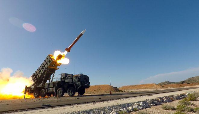 Ceremonia de recepţie a primului sistem de rachete PATRIOT, joi, la Capu Midia - 1-1600103226.jpg
