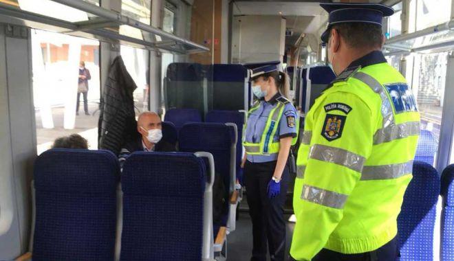 Peste 300 de sancţiuni au fost aplicate în urma controalelor în trenuri şi staţii de cale ferată - 1-1611158506.jpg