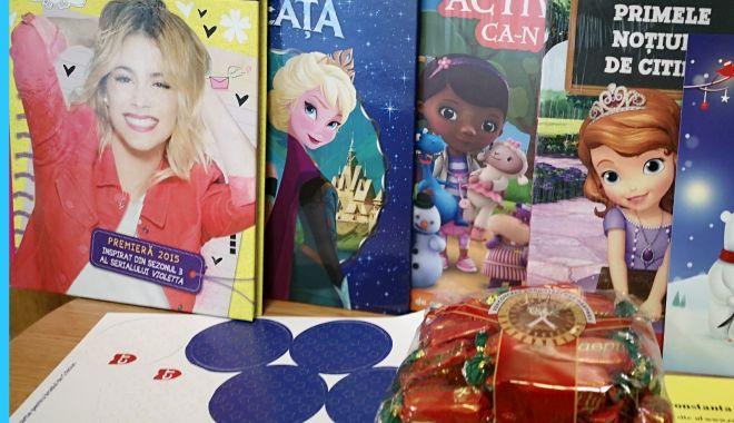 Foto: A început distribuirea cadourilor de Crăciun pentru copiii din Constanța