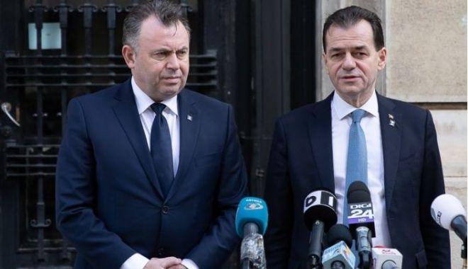 Foto: Nelu Tătaru neagă existența neînțelegerilor între el și Ludovic Orban în privința excepțiilor de la purtarea măștii