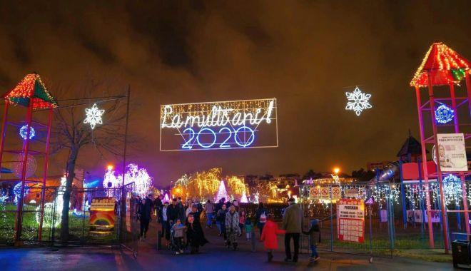 Foto: Festivalul Iernii continuă la Constanța. Ce se întâmplă la Palatul Fermecat