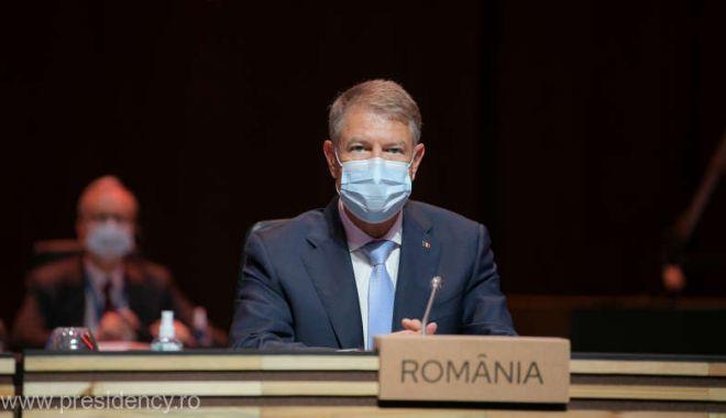 Preşedintele Iohannis a făcut apel la consolidarea coordonării la nivelul UE, la Porto - 137-1620493705.jpg