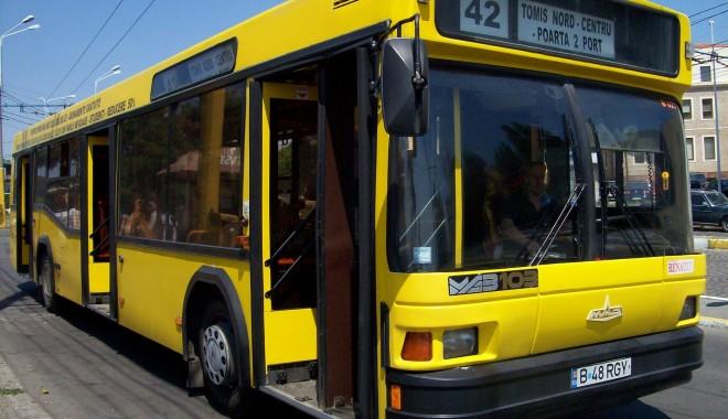Mai multe autobuze RATC își schimbă traseul. Iată rutele - 13augustratccontrolautobuzepolit-1568365940.jpg