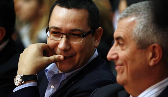 Foto: Ponta, discuții cu Tăriceanu despre numirea lui Hellvig