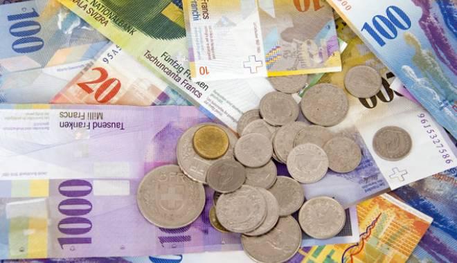 Foto: Motive de bucurie pentru cei ce au credite în franci elvețieni