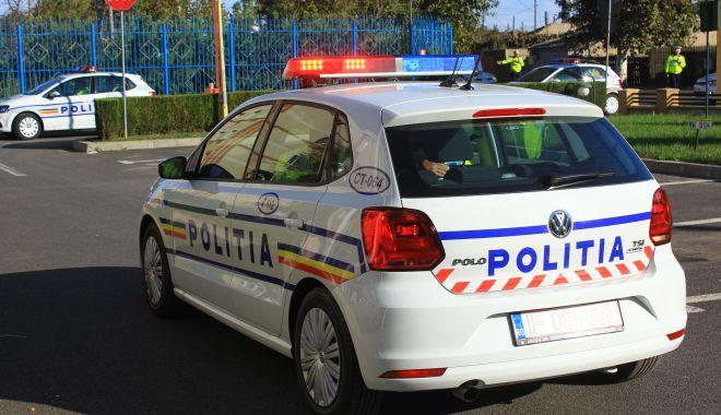 Foto: Accidentat la coborârea din microbuz, în fața Gării Constanța
