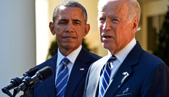 Foto: Barack Obama i-a oferit lui Joe Biden cea mai înaltă distincție civilă