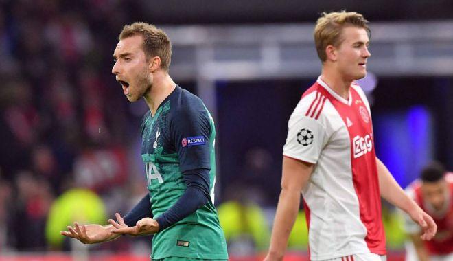 Foto: Ajax-Tottenham 2-3 în semifinala UEFA Champions League