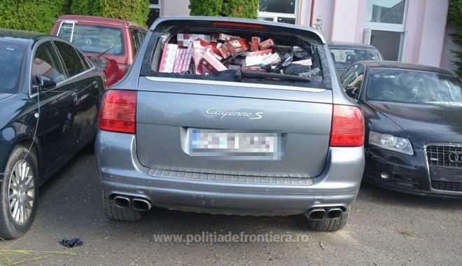 Porsche Cayenne cu număr fals de înmatriculare și plin cu țigări, depistat la frontieră - 1623399276579896c3925f1c4764945d-1623401073.jpg