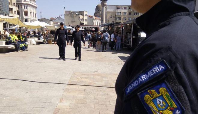 Foto: Jandarmii constănțeni, la datorie în weekend
