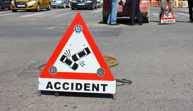 Foto: ACCIDENT RUTIER / VICTIMA, UN MANAGER DIN MEDGIDIA