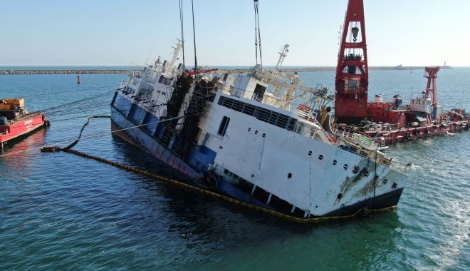 Noutăți privind scoaterea la suprafață a epavei din portul Midia - 18febrnavamidiasursagsp2-1582015710.jpg