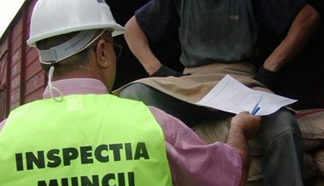 Foto: 198 de lucrători la negru, prinși de inspectorii de muncă în doar o lună