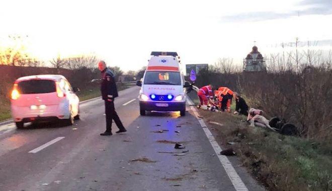 Foto: TRAGEDIE! Adolescent MORT ÎN ACCIDENT RUTIER, la Constanța!