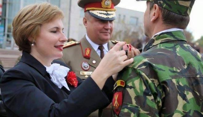 Otilia Sava, viitorul ministru al Apărării?