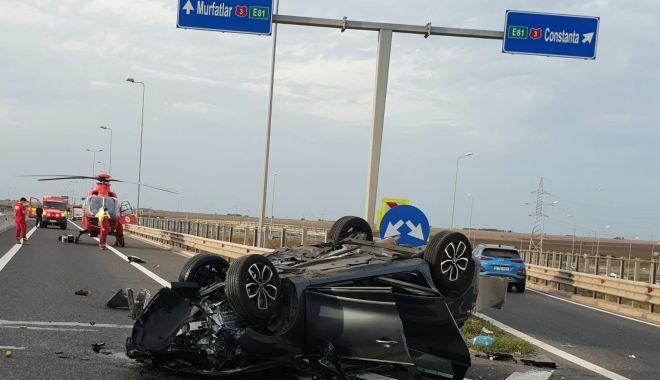 Tragedie pe autostrada A4. O persoană și-a pierdut viața - 2-1599149253.jpg