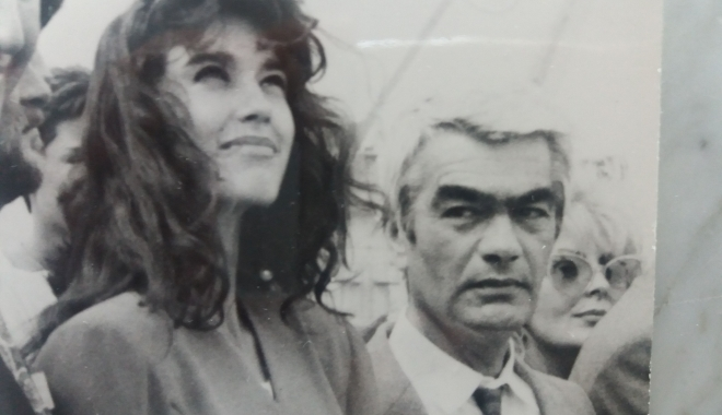 """Foto: Arhiva de Aur """"Cuget Liber"""". Alina Chivulescu, """"filată"""" în portul Constanța"""