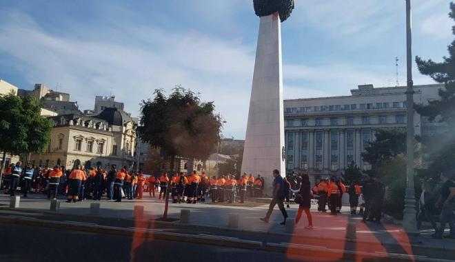 GALERIE FOTO / Reprezentanți ai SAJ Constanța, prezenți la mitingul din Capitală.