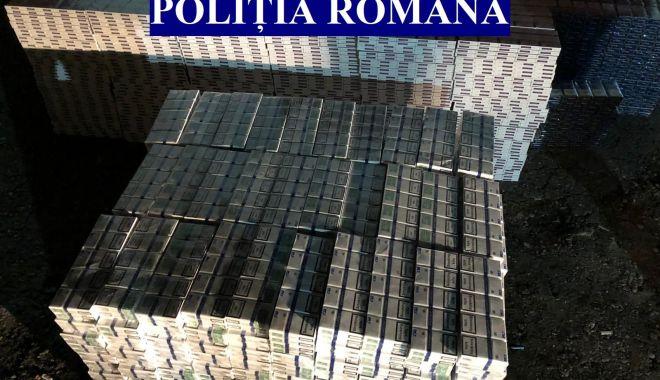 Zeci de mii de pachete de țigări de contrabandă, confiscate de Poliție - 2dectigaripolitisti-1606900324.jpg