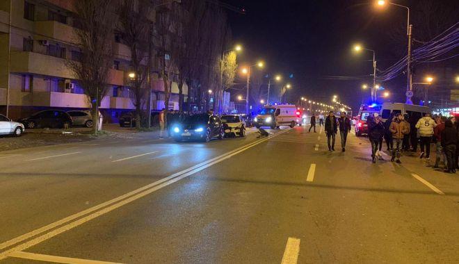 ACCIDENT GRAV în stațiunea Mamaia. Trei mașini implicate! - 3-1583185502.jpg