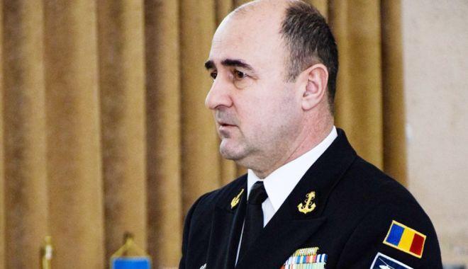 Foto: VIDEO / Noul șef al Statului Major al Forțelor Navale, contraamiralul Mihai Panait