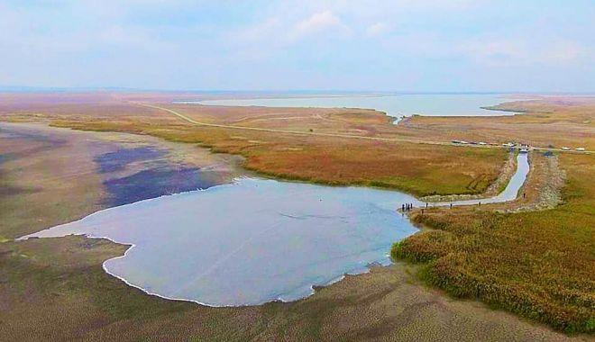 Lacul Nuntași ARE DIN NOU APĂ, după ce secase complet! - 30octlaculnuntasi1-1604050010.jpg