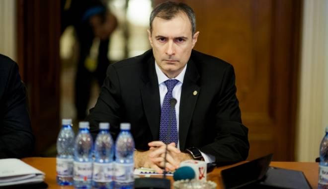 Foto: Directorul interimar al SRI, Florian Coldea, audiat în Parlament, după denunțul Elenei Udrea