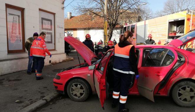 Foto: Galerie foto. Accident rutier la Constanța. Victima este o femeie