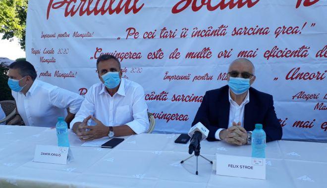 Foto: Felix Stroe: Mangalia are nevoie de un primar de talia lui Zanfir Iorguș