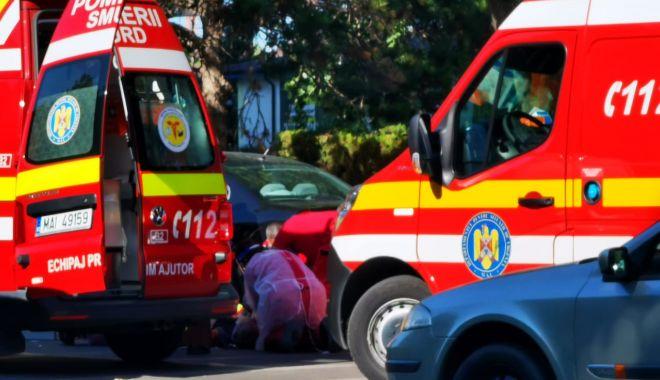 Foto: Accident grav pe bulevardul Alexandru Lăpușneanu. Un pieton este resuscitat