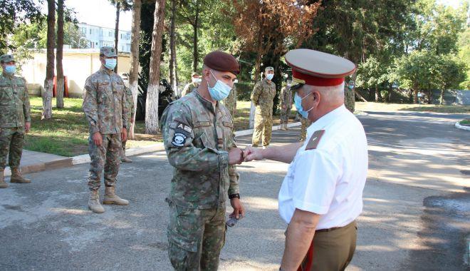 """Foto: Comandant nou în fruntea Batalionului 345 Artilerie """"Tomis"""""""