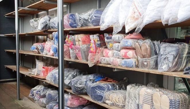 DESCINDERE la un ANGRO din Constanța. Poliția a confiscat haine de 56.000 de lei - 4marttransporturihaine2-1614849344.jpg