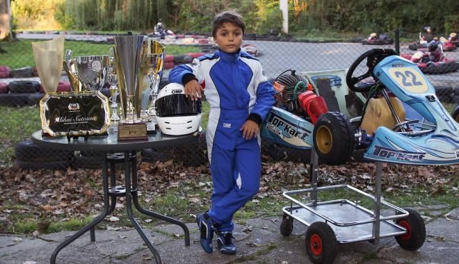 Foto: Galerie foto. Constănțeanul Mihai Suteanu, campion național la karting