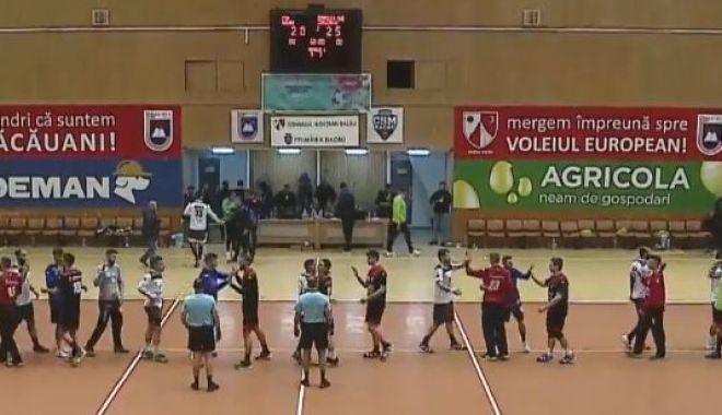 Foto: Handbal / HC Dobrogea Sud, victorie în deplasare, cu CSM Bacău