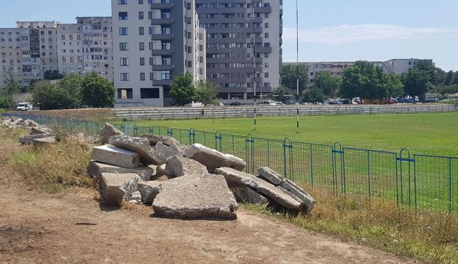 Informații de ULTIMĂ ORĂ despre construcția Sălii Polivalente. GALERIE FOTO de pe șantierul din