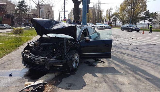 Foto: UPDATE - Accident rutier cu patru victime, în stațiunea Mamaia