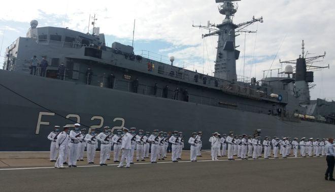 Festivitățile de Ziua Marinei sunt găzduite, anul acesta, de Portul Militar Constanța. GALERIE FOTO - 6072de2b1ae9482f81b087442eaab1bb-1597480773.jpg