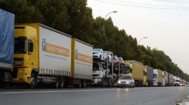 Foto: ATENȚIE, TRANSPORTATORI! Traficul rutier de marfă va fi întrerupt astăzi