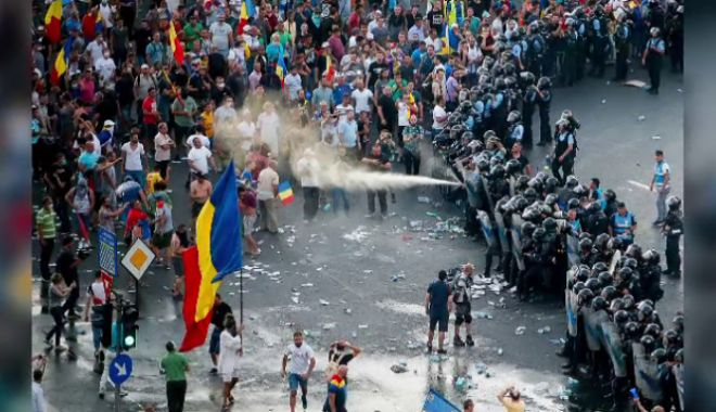Foto: Dosarul privind intervenția jandarmilor în 10 august, desecretizat!