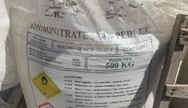Peste 8.000 de tone de azotat de amoniu, indisponibilizate - 658bb4a9bd514f658603646ebac020ec-1597416412.jpg