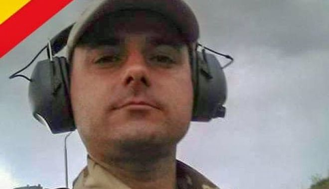 Foto: El este militarul mort în Afganistan, azi. A lăsat în urmă doi copii...