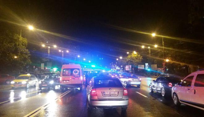 Foto: Galerie foto. Accident rutier la Constanța, soldat cu o victimă
