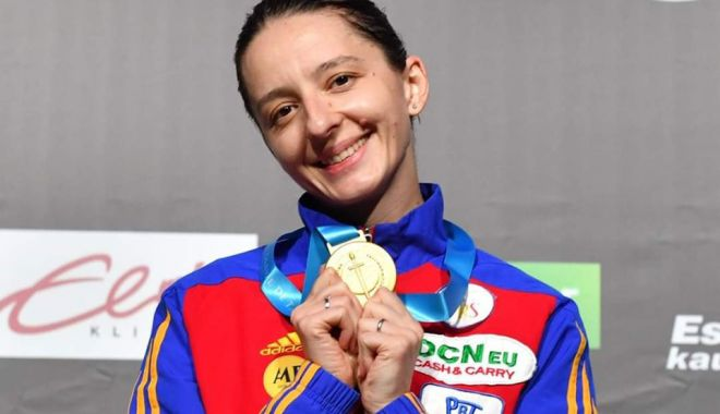 Foto: Ana-Maria Popescu a câștigat Cupa Mondială la spadă