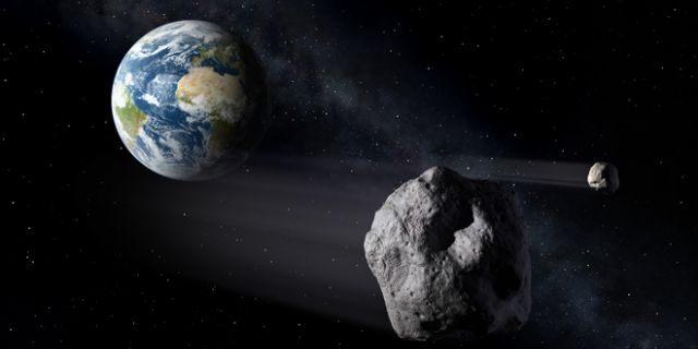 Foto: Avertisment NASA. Un asteroid de mari dimensiuni va trece pe lângă Pământ